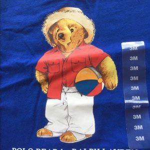 NWT Ralph Lauren Polo Bear T-Shirt